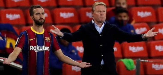 """""""Koeman"""" replied that Pjanic was pickled because of this"""