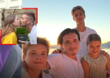 """Harper"", the only daughter of Beckham"